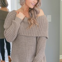 Chilly Night Out Sweater
