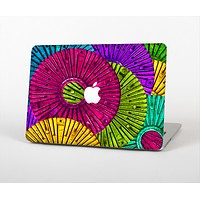 """The Colorful Segmented Wheels Skin for the Apple MacBook Air 13"""""""