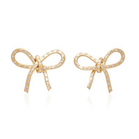 Romance 18K Gold Diamond Earrings | Moda Operandi