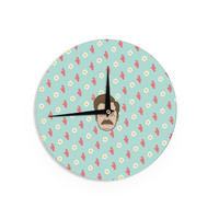 """Juan Paolo """"Give Me All Of The Bacon And Eggs"""" Parks & Recreation Wall Clock"""