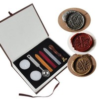 Hogwarts Personalized Wax Seal Stamp Set