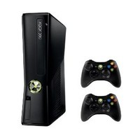 XBOX 360 4 GB Console with 2 Wireless Controllers Bundle (XBOX 360) : Target