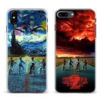 Stranger Things Season 2 Coque Phone Case For Apple iPhone X 8Plus 8 7Plus 7 6sPlus 6s 6Plus 6 5 5S SE Cover Shell