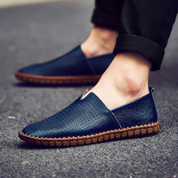 Hot Sale Casual Stylish Comfort On Sale Hot Deal Vans Plus Size Leather Tods Handcrafts Loafer Shoes Sneakers [11485137871]
