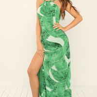 Bae-Cay Dress - Green
