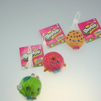 Shopkins Stress Balls Collecters Item One of a Kind Special Edition