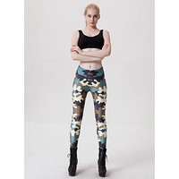Women Camouflage Yoga Pants