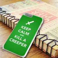 Keep Calm And Kill A Creeper iPhone 6 Plus | iPhone 6S Plus Case