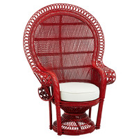 Peacock Chair, Coral, Accent & Occasional Chairs