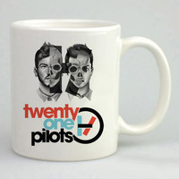 twenty one pilots Logo Sketch Mug, Tea Mug, Coffee Mug
