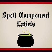 Spell Component Labels
