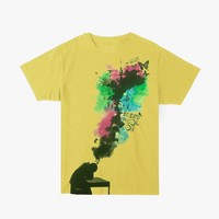 Archives | Dream in Color Tee in Washed Yellow