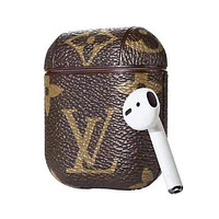 LV Louis Vuitton Vintage Classic Old Flower Airpod Case
