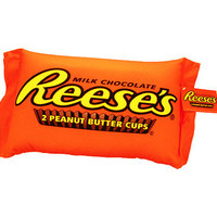 Reese's Peanut Butter Cup Squishy Candy Pillow | CandyWarehouse.com Online Candy Store