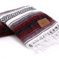 WINE MEXICAN BLANKET