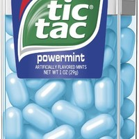 tic tac Powermint Singles, 1 Ounce (Pack of 12)