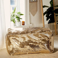 Reversible Sequin Pouf | Urban Outfitters