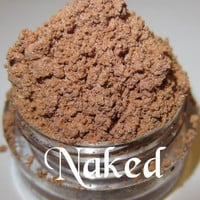 NEW Naked Nude Beige Neutral Natural Satin Finish Mineral Eyeshadow Mica Pigment 5 Grams Lumikki Cosmetics