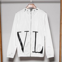 Valentino sells stylish couples with large monogram prints and sleek sunscreen White
