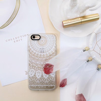 Elegant iPhone 6s & 6s Plus Case (White Lace Dream Pattern) by Casetify