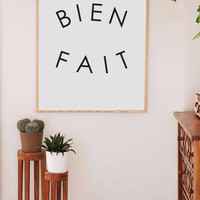 Printable Wall Art Prints, Printable Quotes, Digital Print, Digital Download, Feminist Quote, Modern Decor, Womens Day, Bien Fait, Madewell