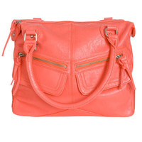 Double Zippered Satchel   Shop Accessories at Wet Seal