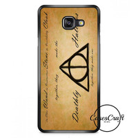 Harry Potter With Tribal Print Samsung Galaxy A7 Case   casescraft