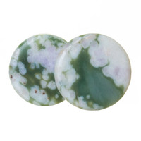 Wild Lotus Jasper Stone Plugs (3mm-25mm)