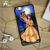 Beauty and The Beast Stained Glass iPhone 6 case by Avallen