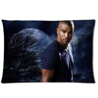 """Shemar Moore Pillowcase Covers Standard Size 20""""x30"""" CC3573"""