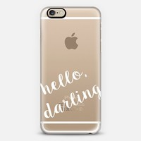 Hello Darling iPhone 6 case by Eastwood Eclectic | Casetify