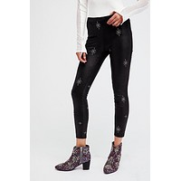Embellished Vegan Legging