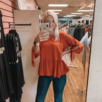 Fall For Me Babydoll Top