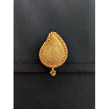 Antique gold platted Clip on Hair Clip