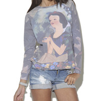 Snow White Sweatshirt    Shop Just Arrived at Wet Seal
