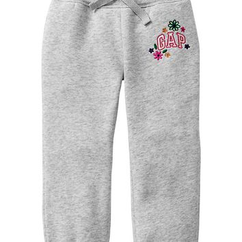Gap Baby Factory Floral Arch Logo Sweats