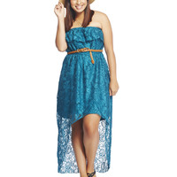 Lace High Low Tube Dress | Wet Seal +