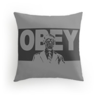 OBEY in Gray