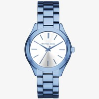 Slim Runway Cerulean-Tone Watch | Michael Kors