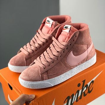 Nike Blazer Mid VNTG SUEDE Trailblazer High-Top Casual Sports Shoes