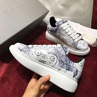 Alexander Mcqueen Graffiti Oversized Sneakers Reference #13