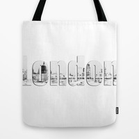 London Canvas Tote Bag by Karl Wilson Photography