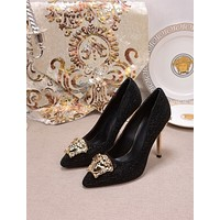 Versace Women's 2021 NEW ARRIVALS Fashion High-heeled Shoes