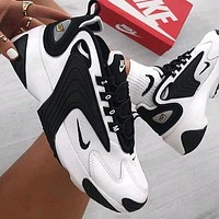Nike Zoom 2K Men's and Women's Casual Platform Daddy Sneakers Shoes