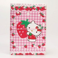 3D Cartoon Hello Kitty  PVC Leather Passport Holder Cover Identity ID Credit Card Cover Document Folder Travel Ticket 14*9.6CM