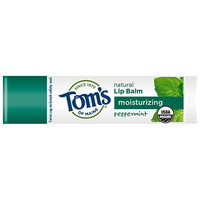 Lip Care | Lip Gloss, Shimmer & Balm | Tom's of Maine | Moisturizing Organic Lip Balm - Peppermint