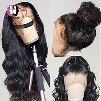 360 Lace Frontal Wig Brazilian Body Wave Wig 13x4 13x6 Lace Front Human Hair Wigs For Black Women Mstoxic Remy Hair Wigs