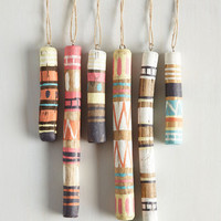 Boho All In Nature, Say Aye Ornament Set by ModCloth