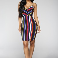 Forever Fortunate Dress - Multi