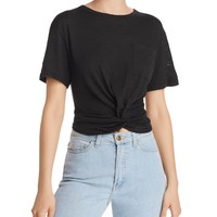 Olivaceous Twist-Front Tee - 100% Exclusive | Bloomingdales's